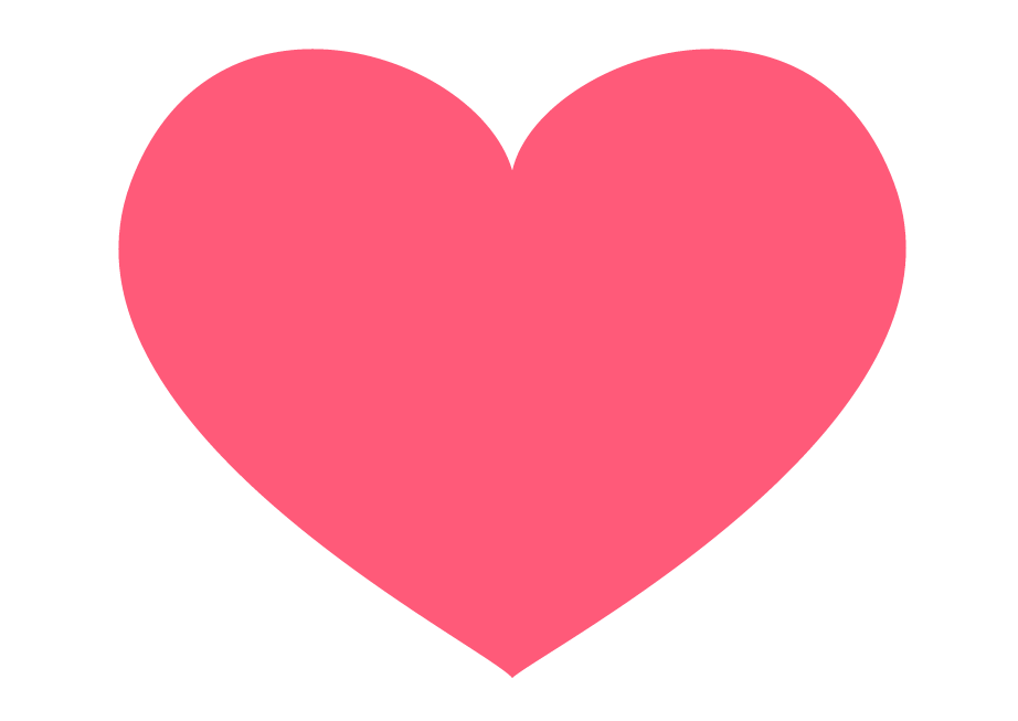 The love heart emoji as we know it today.   Emoji One  (CC BY 4.0)