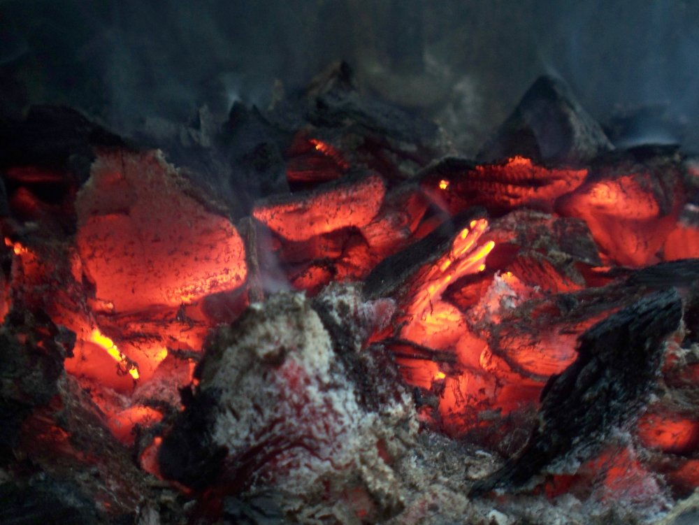 Charcoal is useful for more than fuelling campfires.   Mark Skipper/Flickr   (CC BY 2.0)