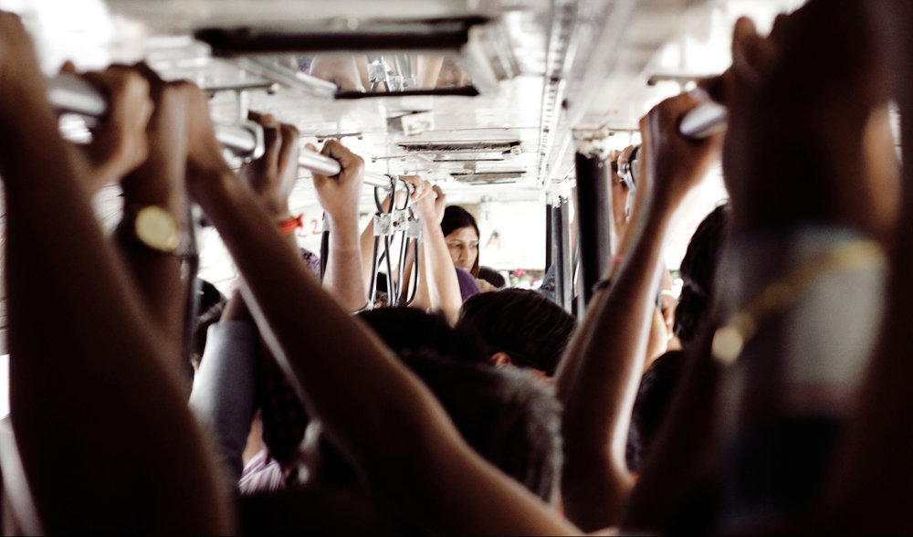 Crowding on public transport is often unavoidable.   Ahmed Mahin Fayaz/Flickr  (CC BY 2.0)
