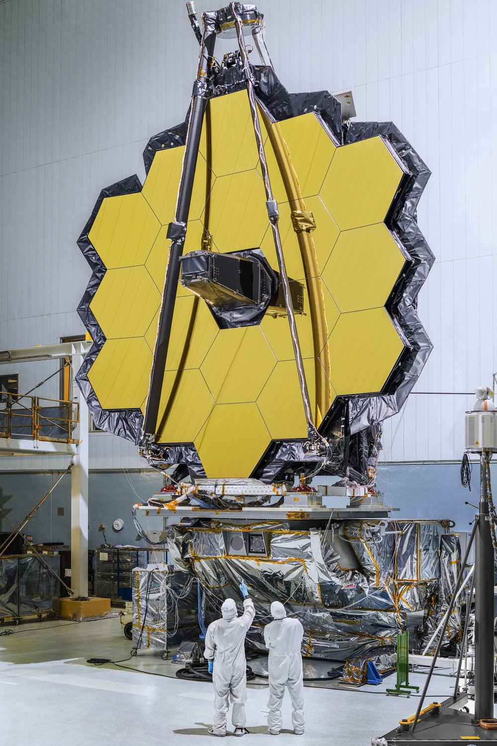 The James Webb Space Telescope is constructed of 18 hexagonal mirror panels, and inspires artists around the globe.   NASA  (CC BY-NC 2.0)