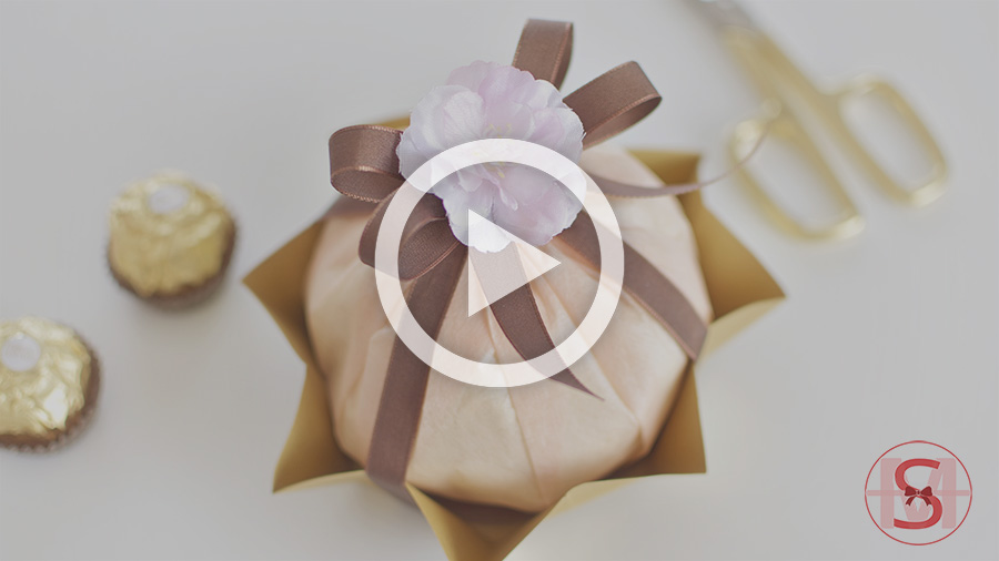 A Fun & Cute Way to Make Ferrero Rocher Style Gift Wrapping