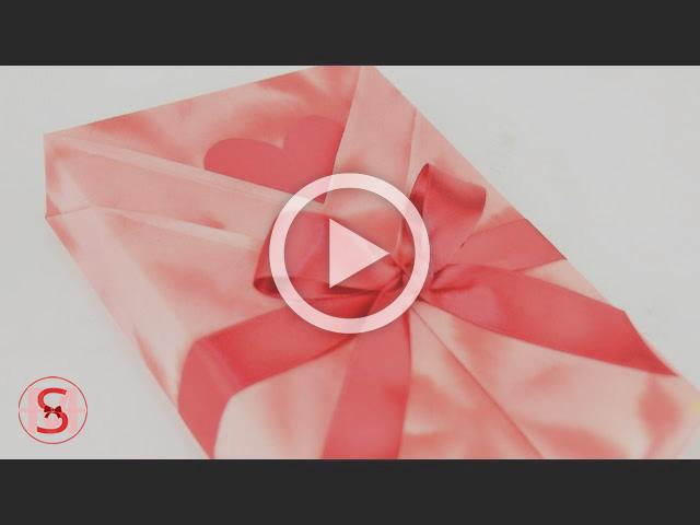 Kimono Style Japanese Gift Wrapping