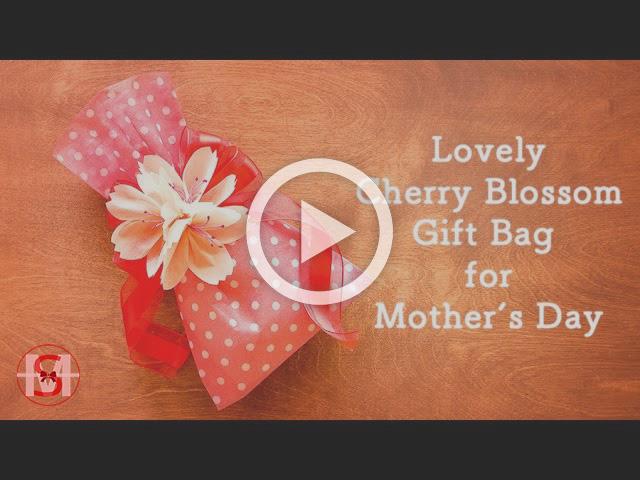 Cherry Blossom Gift Bag