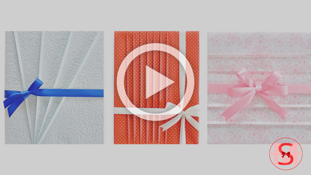How to Make Beautiful Paper Pleats Easily and Evenly for Your Gift Wrapping