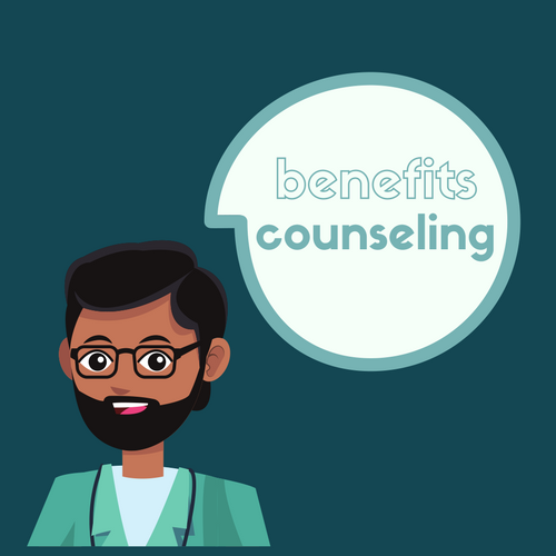 B     ENEFITS COUNSELING:   VeryHuman's Benefits Counseling services informs members about which federal, state, and private resource assistance programs they may qualify for.