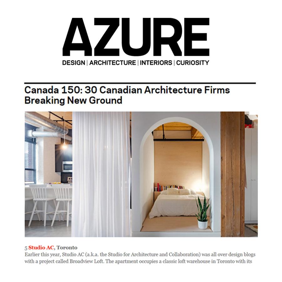 Azure Canada 150