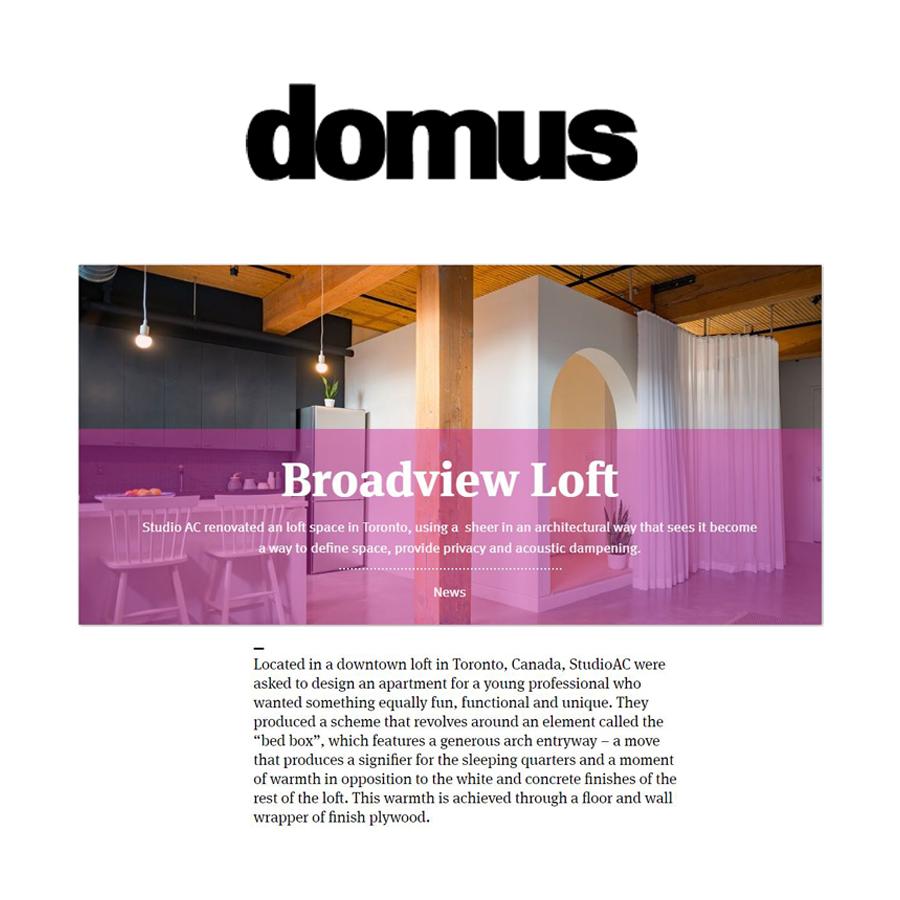 Domus Broadview