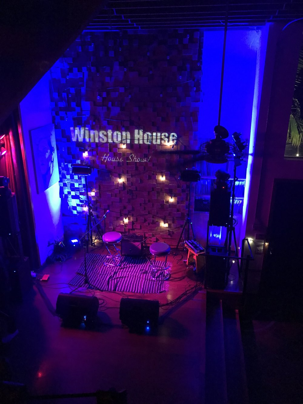 One of the amazing opportunities made possible by Ashley was entrance into the Winston House. And amazing community of Singers and songwriters. I hope to perform there someday very soon!