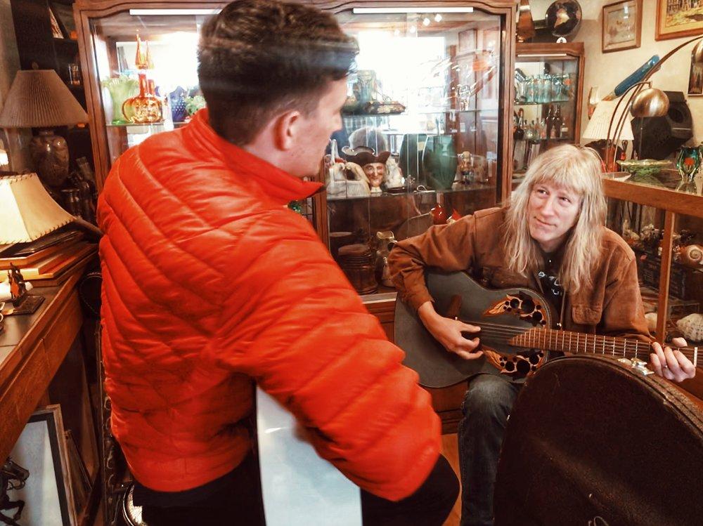 Mark and I at The Rusty Ruby in Spokane, WA