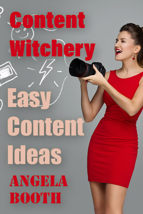 Content Witchery: Easy Content Ideas (Content formats/ templates you can use every day) - PDF, 16 pagesOn some days, you run out of content ideas. On those days, turn to one or two of these easy content templates.