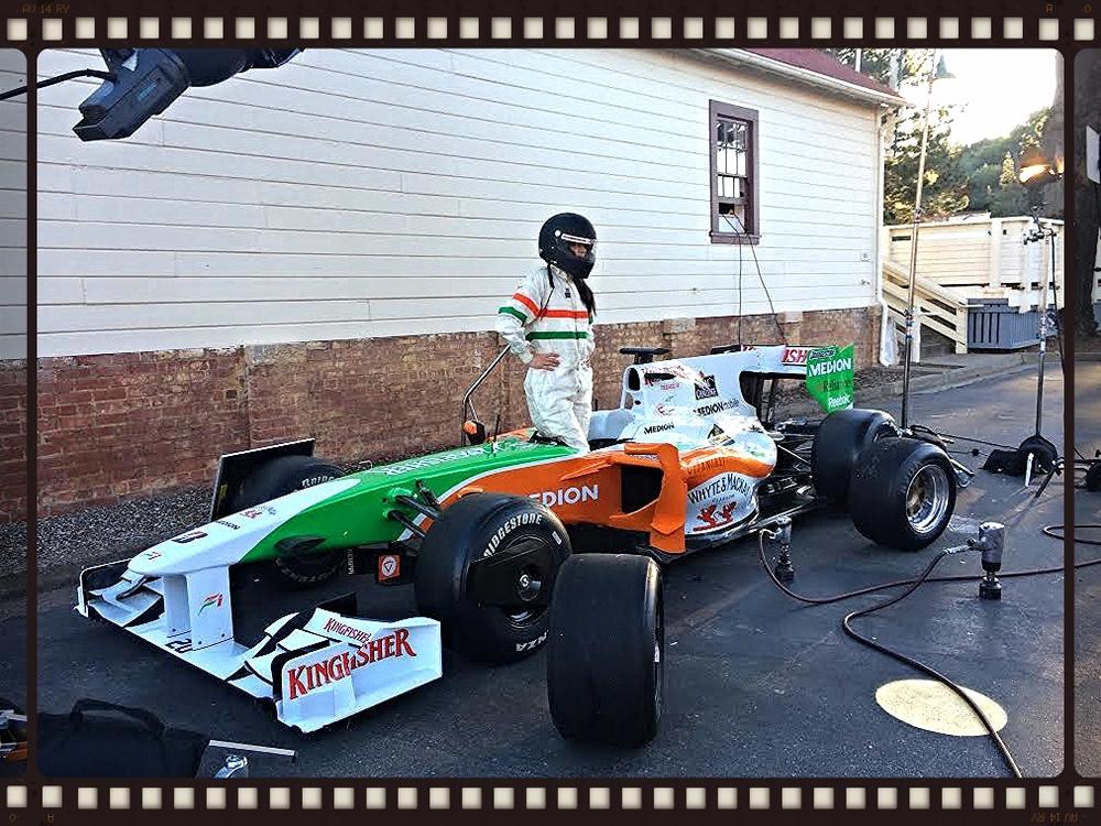 Formula 1- Force India KingFisher/Medion Car