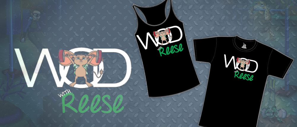 REESEFITRX   Represent The Reese Cause in your next workout with some cool Reese Swag!   Get your own shirts now  →   and  WOD with Reese  →