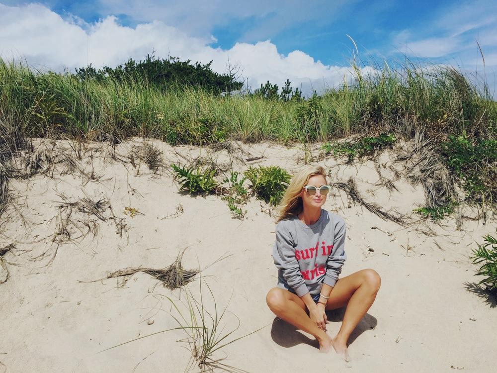 Cuisse De Grenouille Sweatshirt; SUPER Sunnies.