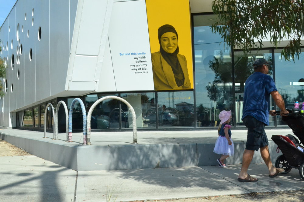 'Behind this smile my faith defines me and my way of life' Fatima's Story at Altona North Library