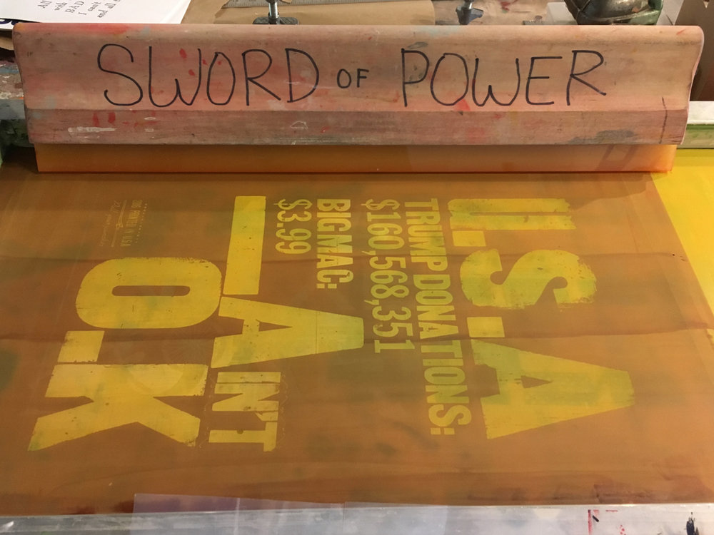 Printing with the SWORD of POWER