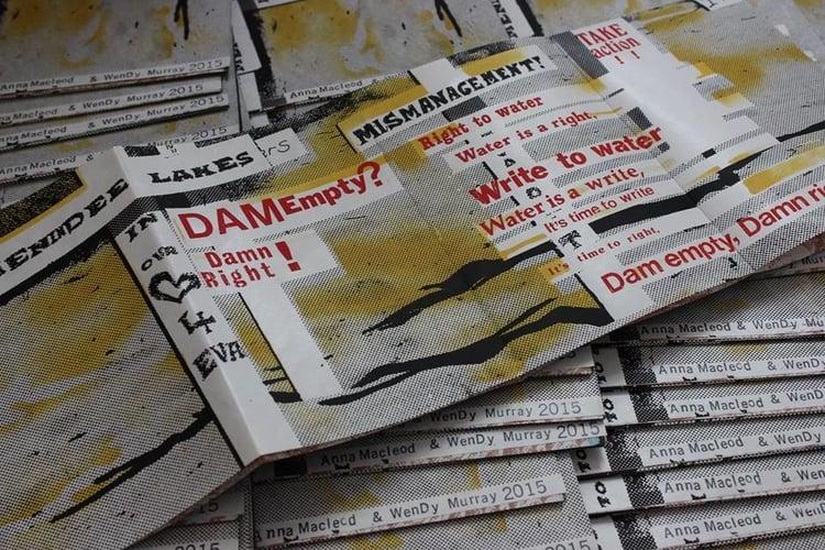 Dam Empty? Damn Right! (zine), 2015, Edition 150