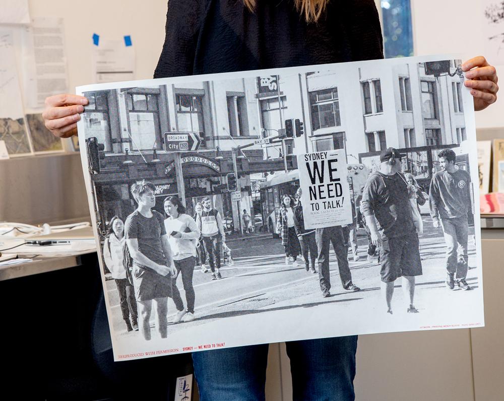 Poster print, 72cmx36cm, edition: 30