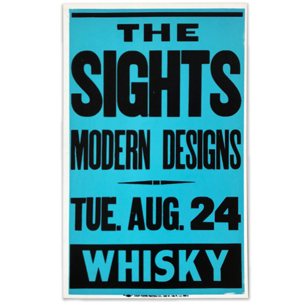 THE SIGHTS   &  MODERN DESIGNS  / TUESDAY AUGUST 24 /  WHISKY   Colby Poster Printing Co.