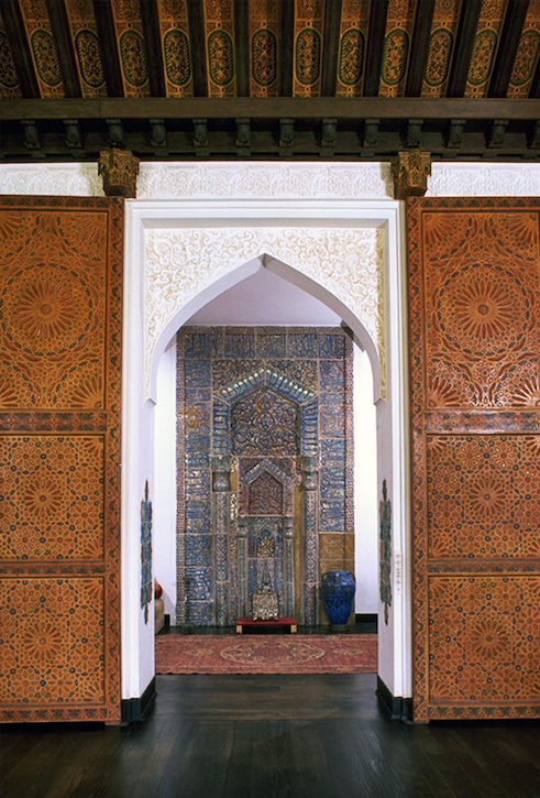 Mihrab seen from living room.JPG