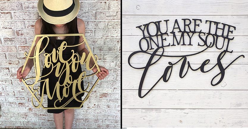 Copy of Wood Cutouts/Quotes