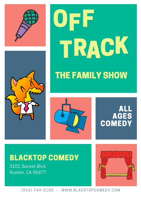 all ages comedy rocklin