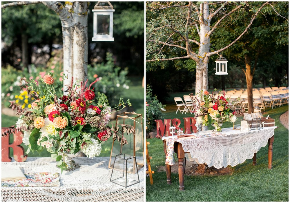 orchard home bed & breakfast wedding