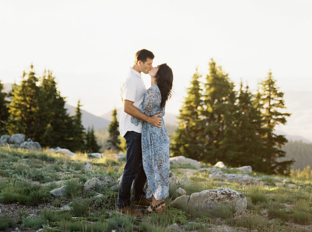 Haley and Wes's Mt. Ashland engagement session. To view full post,  click here.