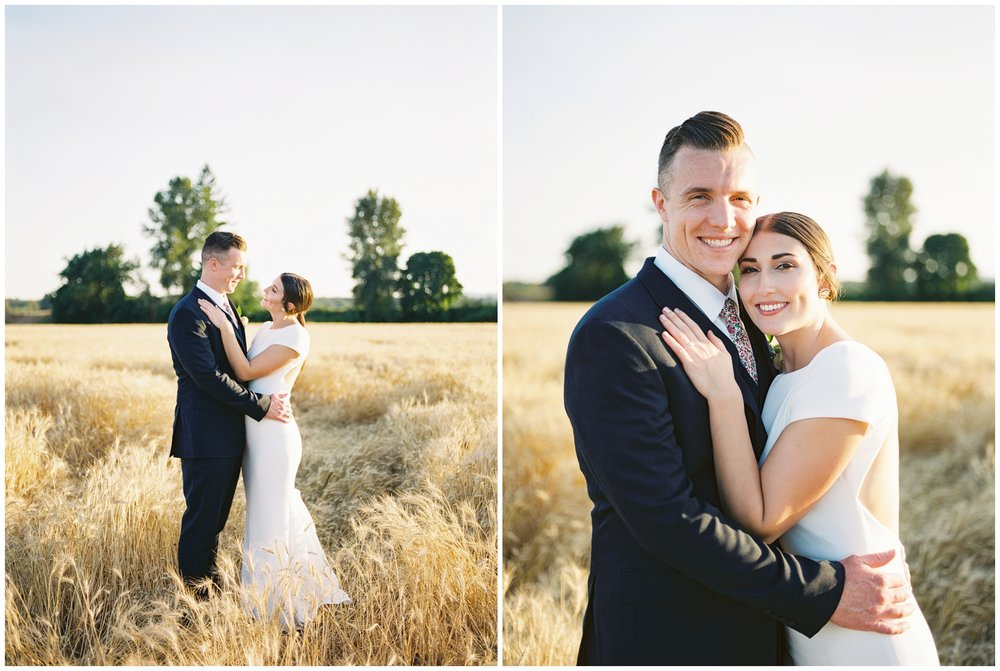 chic oregon farm wedding