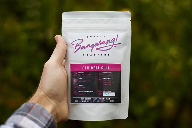 Have you tried @bangarangcoffeeroasters' Ethiopia Guji Natural? It's pretty darn delicious - tasting like stewed peaches and cocoa 👌🏼 #bangarangcoffee #coffee #Guji #EthiopiaCoffee #WhatsInYourMug