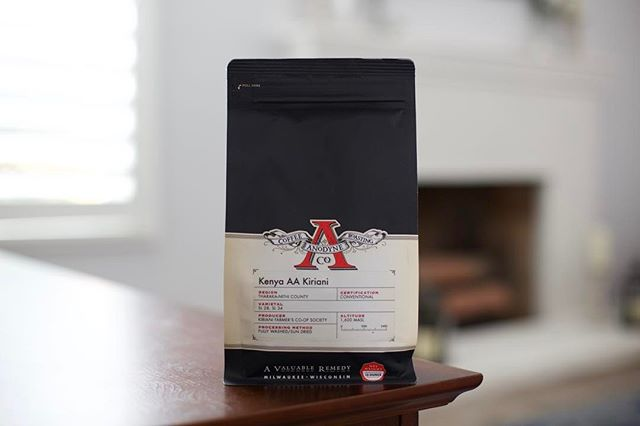 #WhatsInYourMug? We're sipping on a juicy and sweet Kenya Kiriani from @anodynecoffee, tasting like papaya, tart blackberry, and soft cocoa. Delicious! #AnodyneCoffee #Coffee #KenyaCoffee