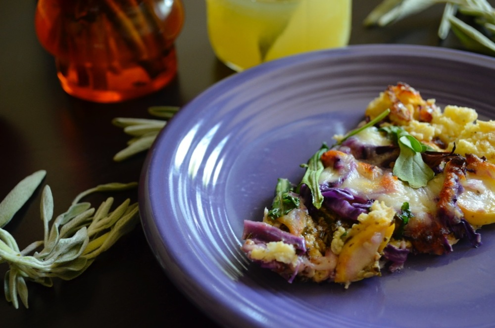 The most colorful and creative low-carb pizza.