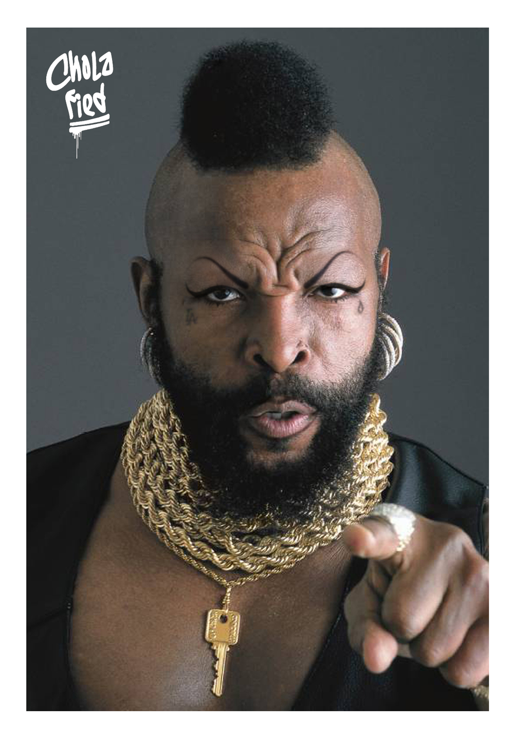 i pity the fool with no hoop earings