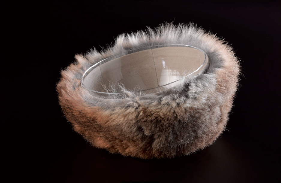 "Hand Bowl, ""dressed in Fur"""