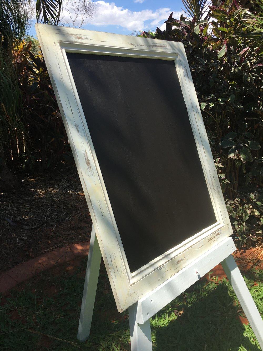 Framed Blackboard $30