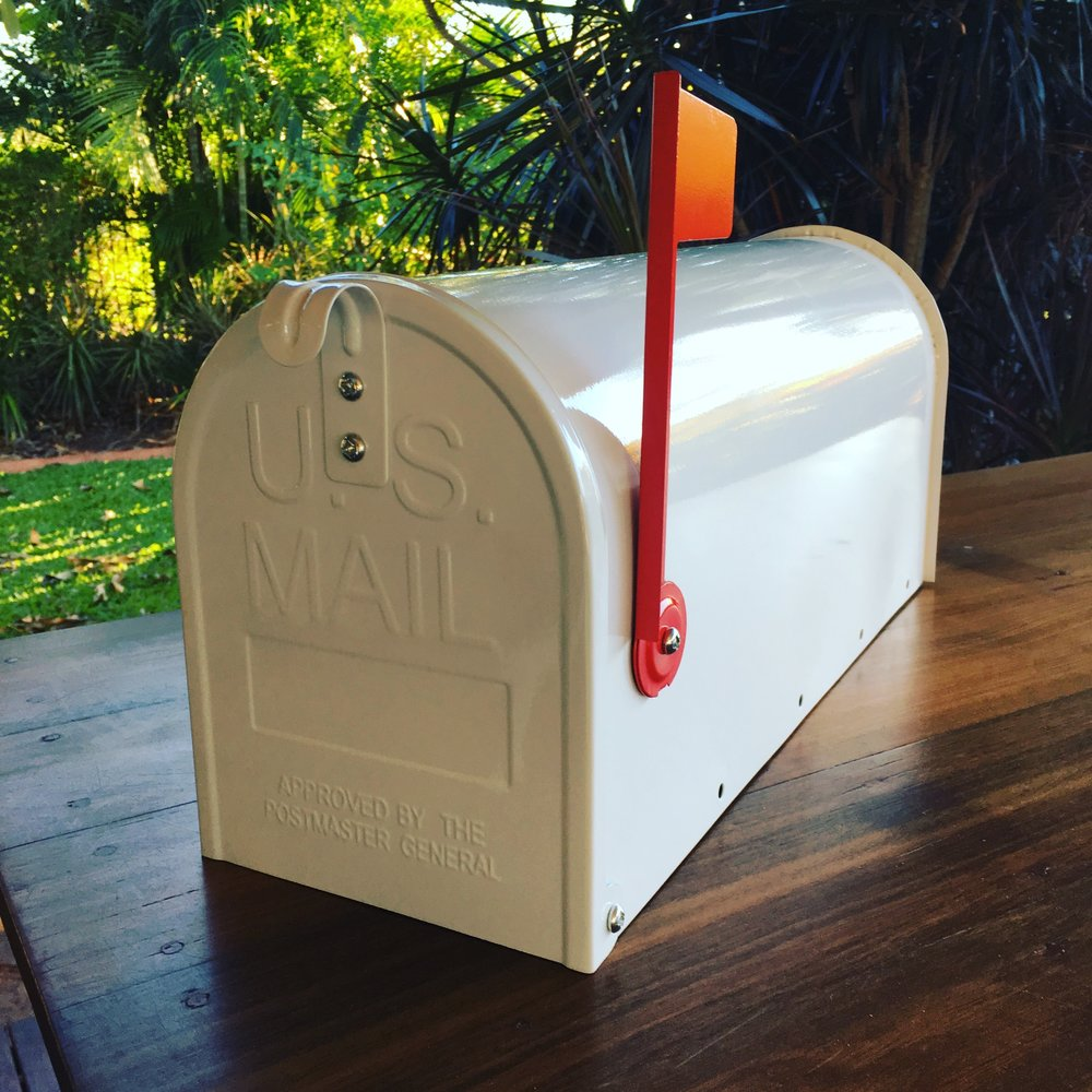 Wishing Well USA Letter box $30