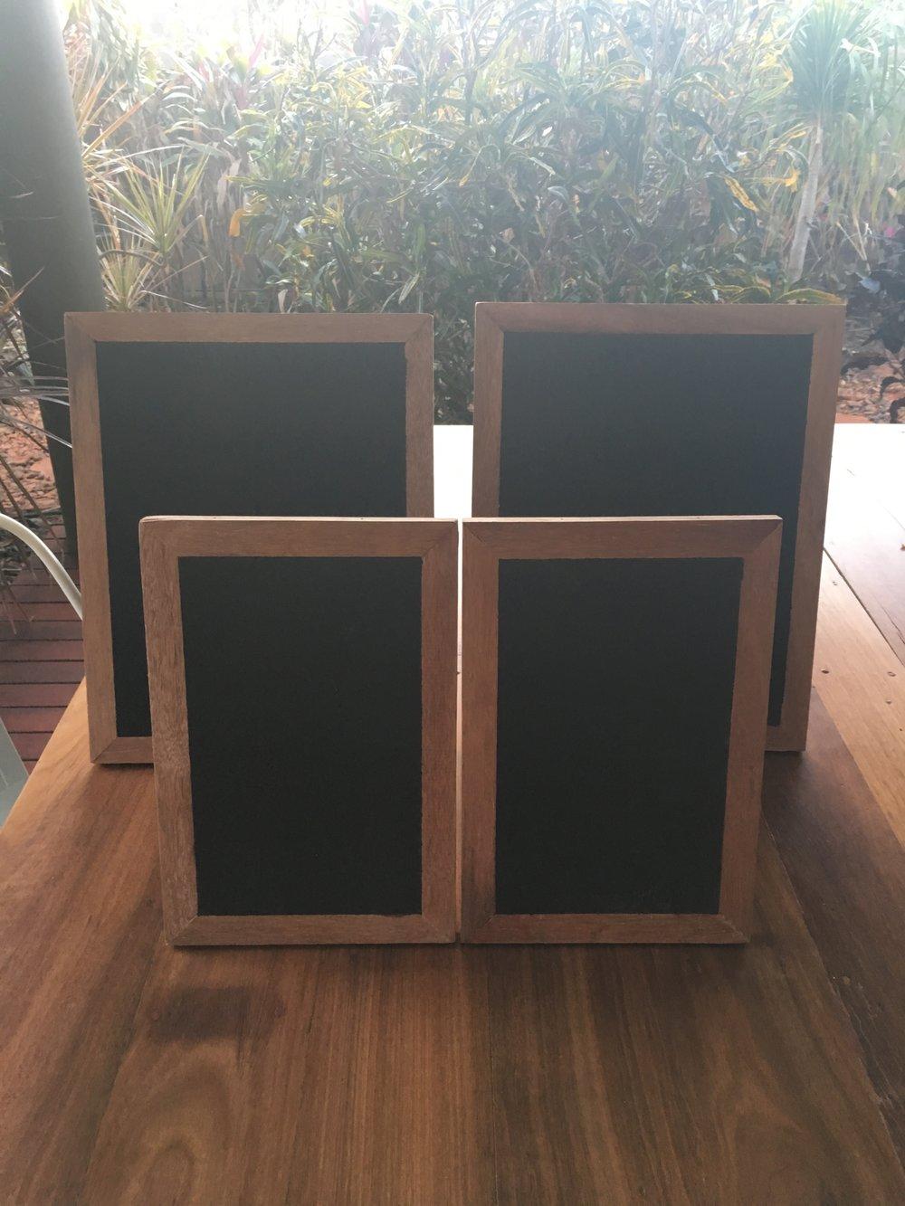 Small Black Boards