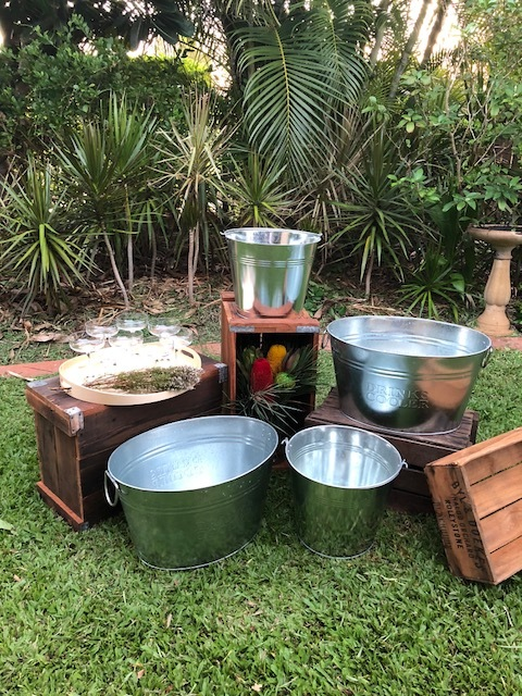 Crates and Tubs $80