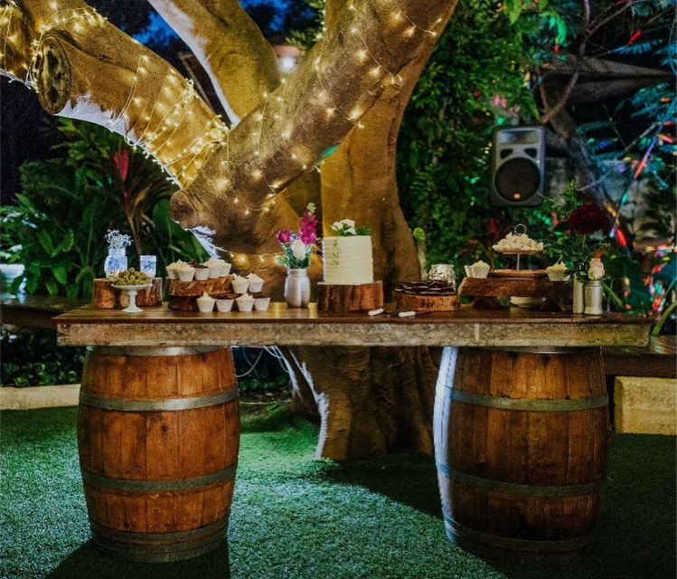 Wine Barrel Bar at The Billi Resort