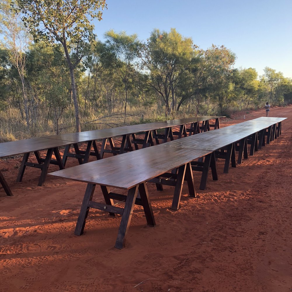 Long Table Dinner Tables