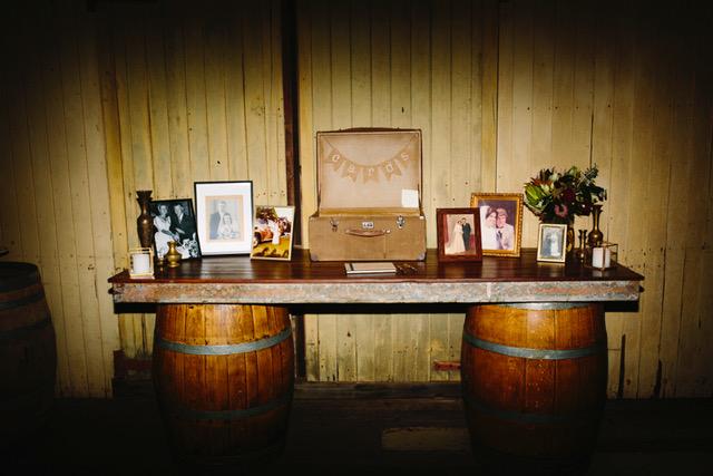 Wine Barrel Bar $150