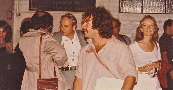 A young Rick Doblin at the 1983 Psychedelic Conference in Santa Barbara.