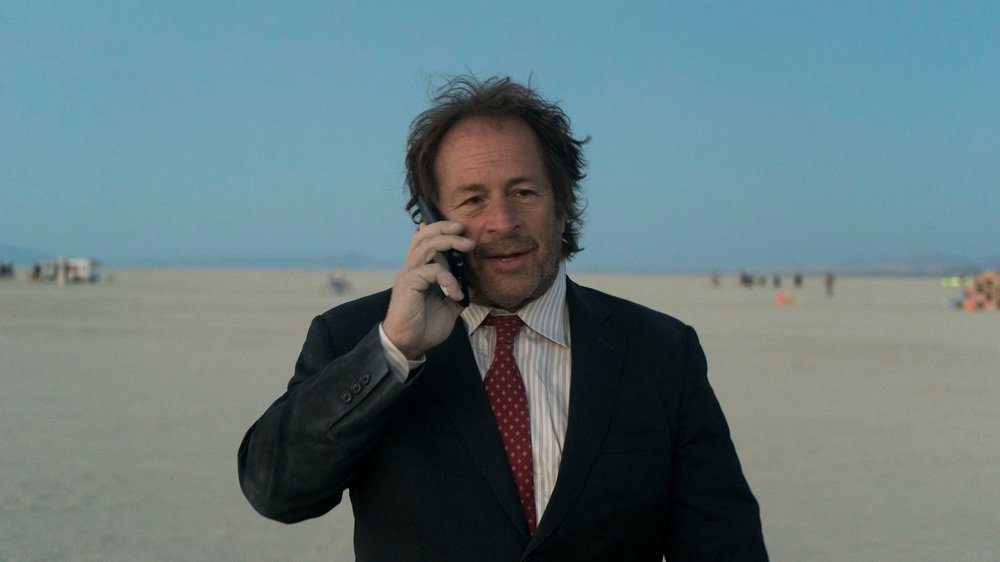 A still from Prescription X with Rick Doblin at Burning Man.  Photo by Nirvan.