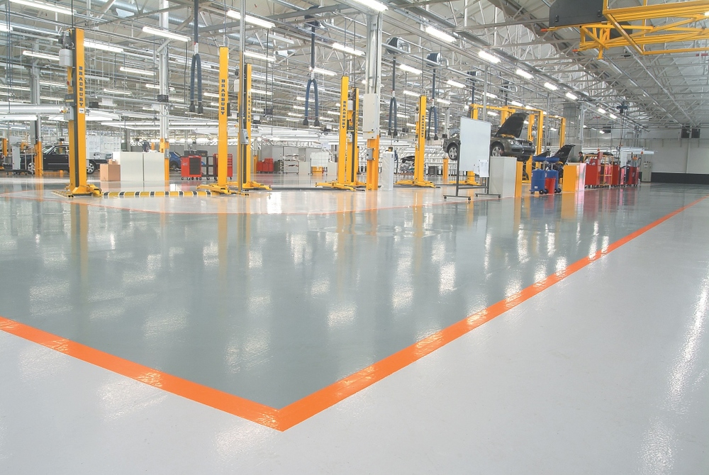 VIEW INDUSTRIAL FLOORING