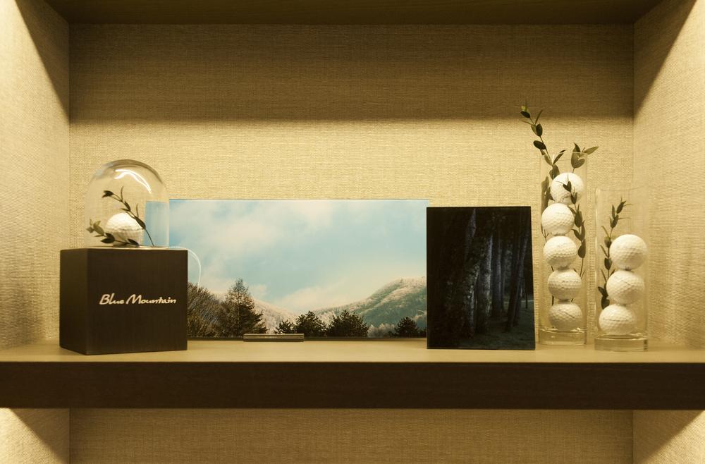 Golf Shop Display @Four Seasons Hotel, Seoul, Korea