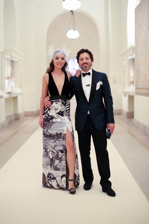 Sergey Brin and Nicole Shanahan via http://vogue.com/