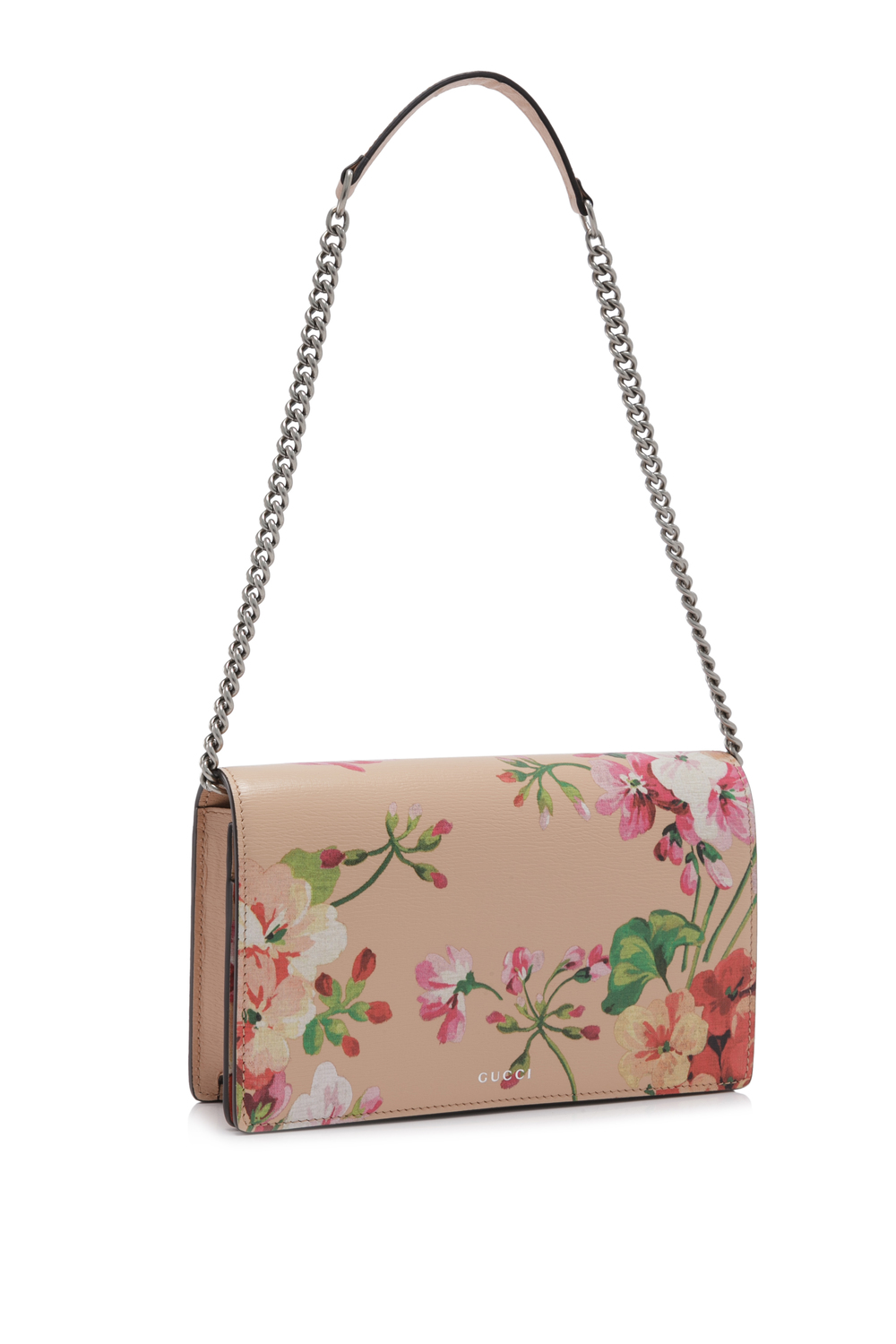 Gucci Blooms Leather Chain Wallet (02).jpg