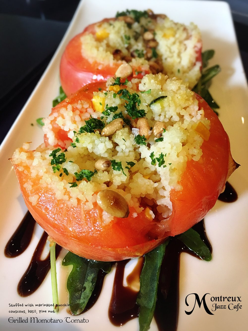 Grilled Momotaro Tomato