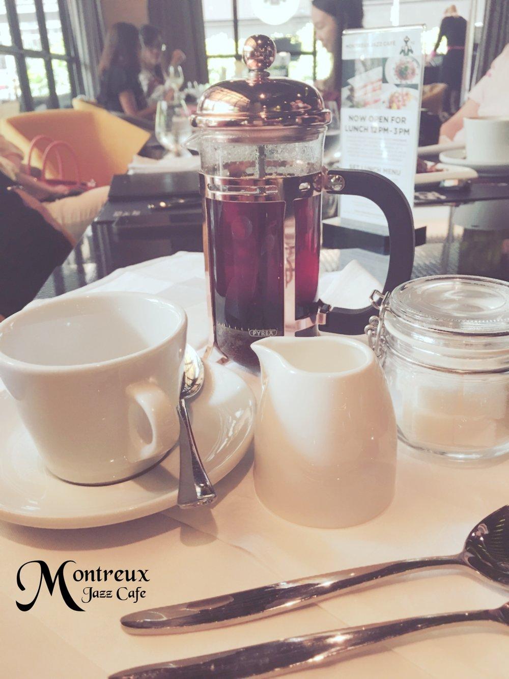 Tea at Montreux Jazz Café