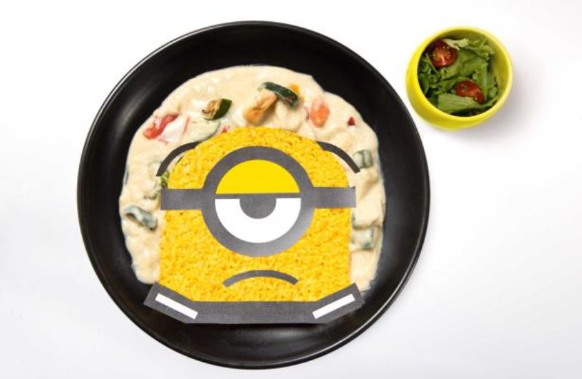 Minion's Great Escape Cream Stew