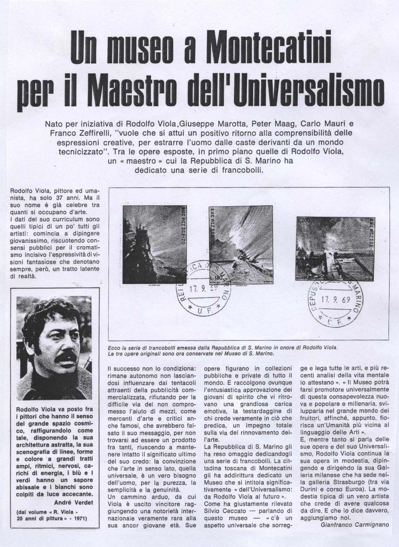 Museo Universalismo Montecatini